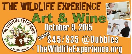 Wildlife Art & Wine, Oct. 9, 2015